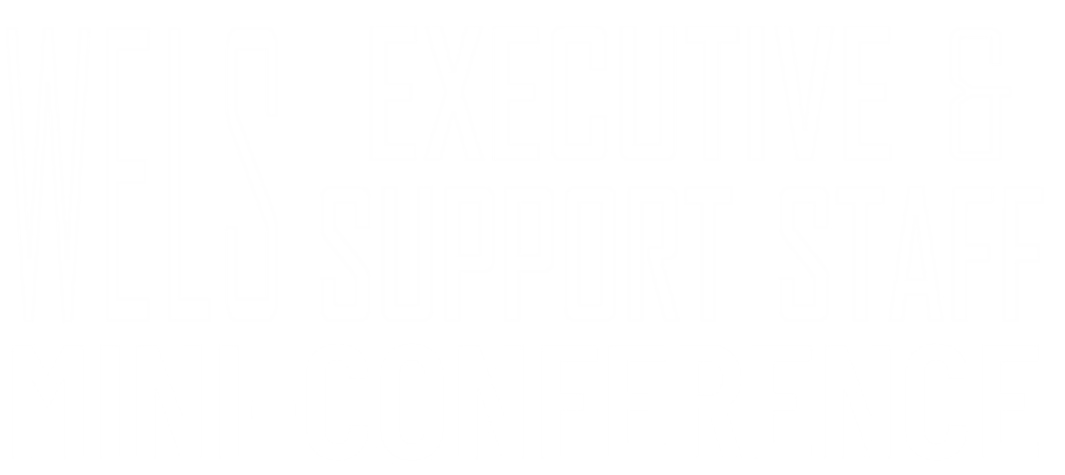 WELS Executive Support Staff Conference